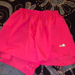 Boa Pink Run Shorts
